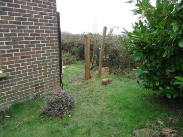 Side gate before