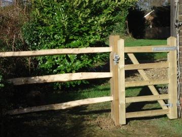 Side gate after